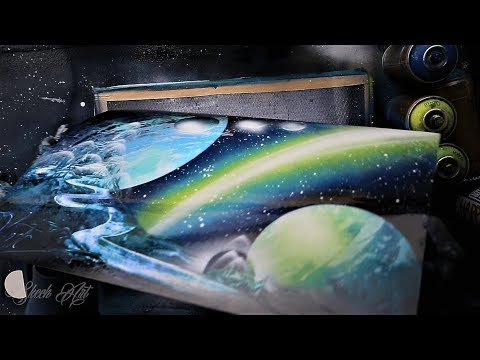 Sacred Space Base SPRAY PAINT ART by Skech