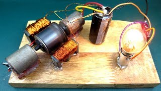 Homemade Free energy device - New idea experiment project at School