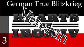 Hearts of Iron 4 - Germany - True Blitzkrieg (Veteran difficulty) Part 3