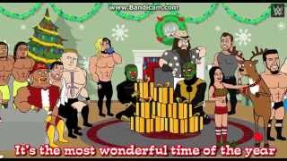 Happy Holidays from WWE christmas song