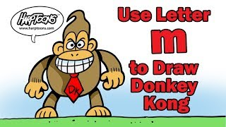 "Use the Letter ""m"" to draw Donkey Kong 🕹"