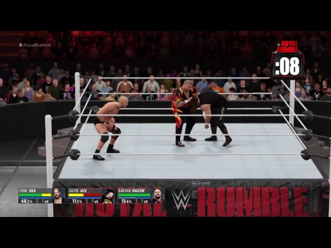 Legeds royal rumble|wwe2k16