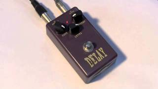 CROSSFIRE ANALOGUE DELAY PEDAL