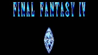 Final Fantasy IV Japanese Title Screen