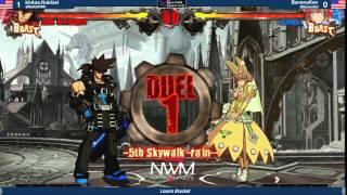 #NWM7 #GGXRD T16 LT8 - khAos.Nakkiel (SOL) vs Bananaken (ELP)