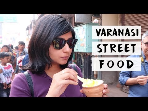 VARANASI STREET FOOD | Benaras Travel Vlog #3