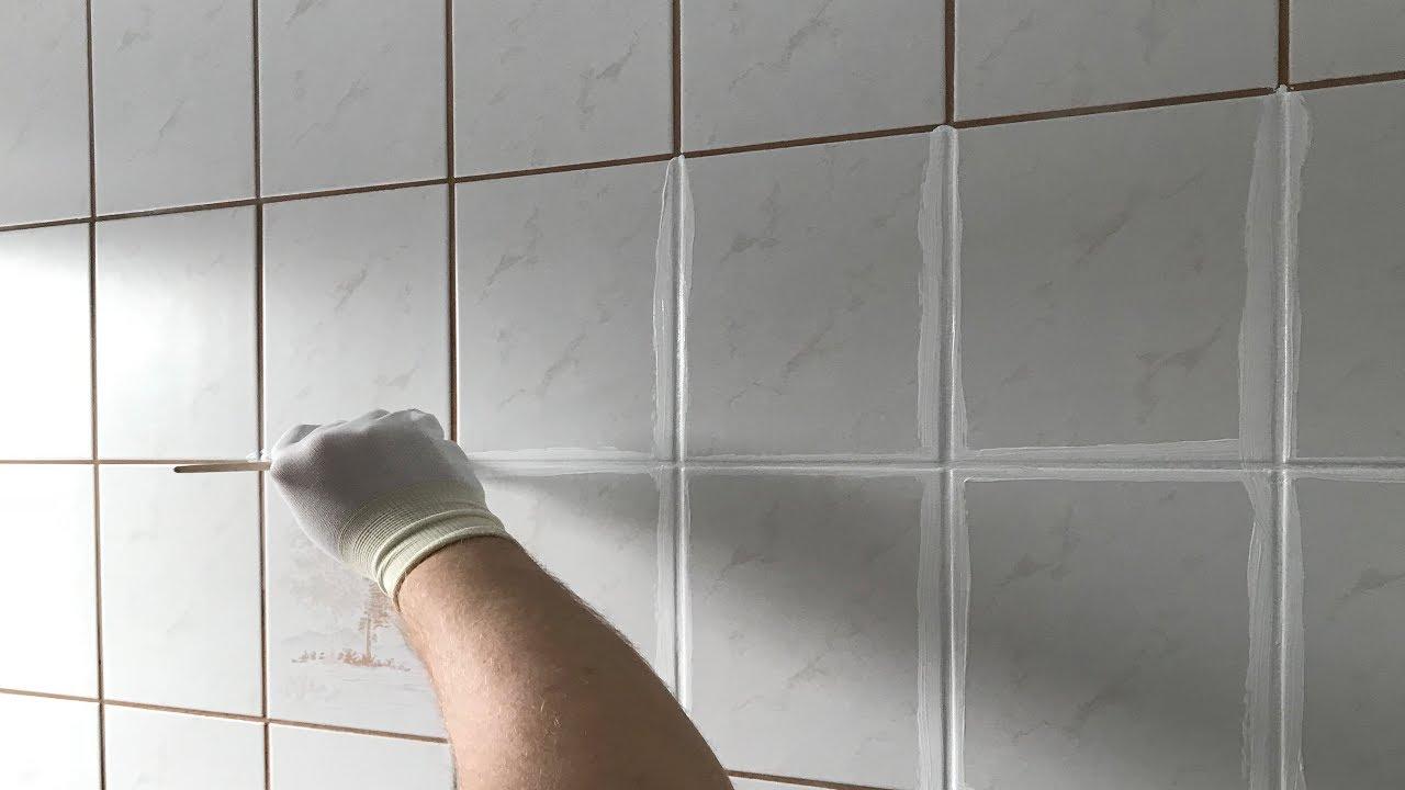 Fliesen Fugen Umfarben So Wird Das Badezimmer Schon Youtube