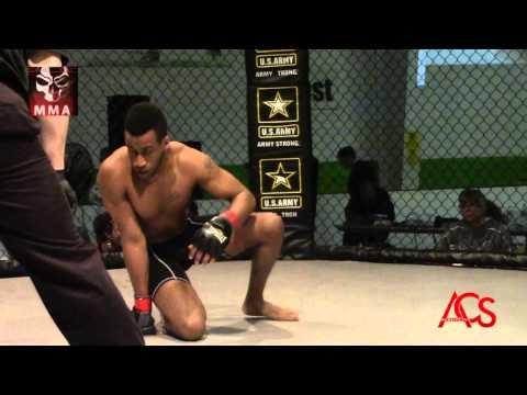 "Exiled MMA ""ANARCHY"" Brandon Bates VS Kevin Walker"