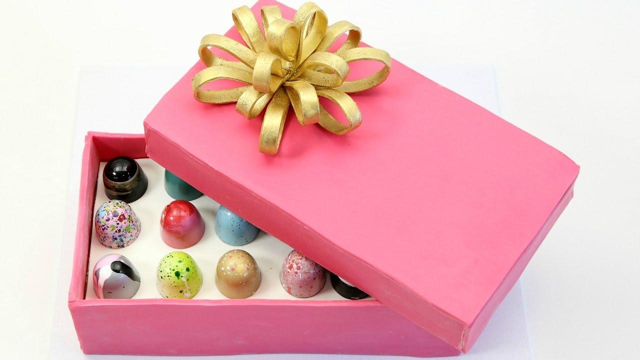 Box of Chocolates Cake! - Mothers Day - YouTube