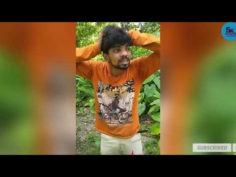 Tik Tok New Viral Video 2019  Funny Tik Tok Video Bangla  Bangla Comedy