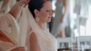 Свадьба в Доминикане. Шикарный ресторан на берегу моря.
