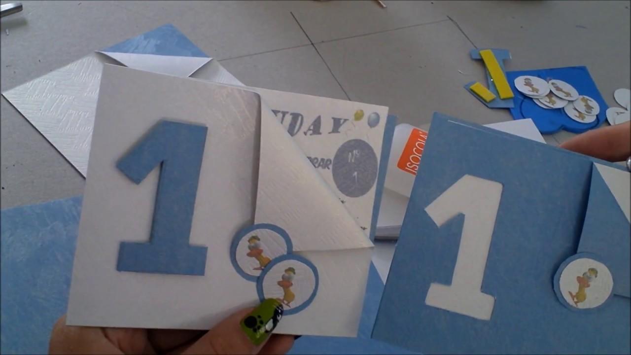 Como Hacer Tarjetas De Cumpleaños Para Niños