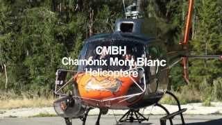 Chamonix Mont Blanc Hélicoptere