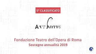 Premio Art Bonus 2020 - 5° classificato - Fondazione Teatro dell'Opera di Roma