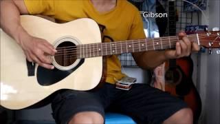 D'Addario EJ15 vs EZ900 vs Gibson - Yamaha f-310
