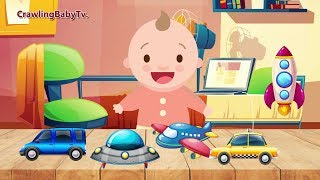 Fun Crying Baby Song | Nursery Rhymes | CrawlingBabyTV