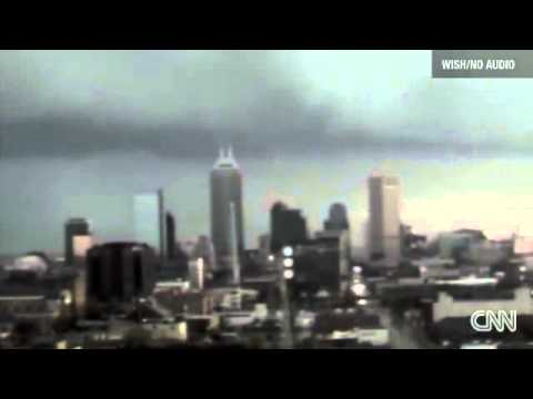 SCARY FOOTAGE Weather Change in Indianapolis, Indianapolis weather time lapse