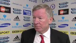 Chelsea vs Manchester United 3-3 - Sir Alex Ferguson (05-02-12)