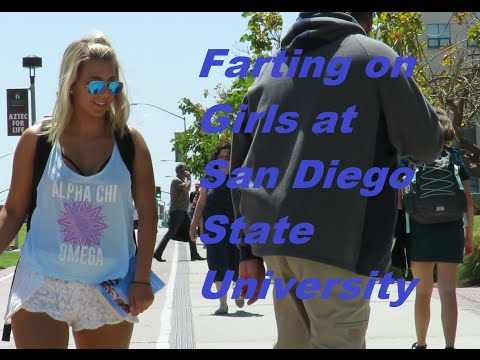 "Thumbnail: WET FARTS ON COLLEGE GIRLS AT SDSU (Wet Farts by ""The Sharter"")"