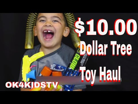 Amazing Kids Dollar tree haul :) Keelan's Corner  ok4kidstv video 40