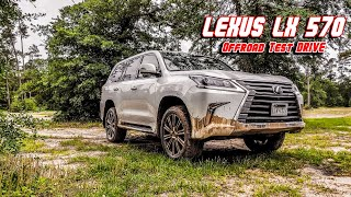 2019 Lexus LX 570 Offroad Test Drive Review