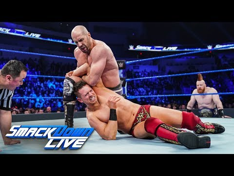 The Miz vs. Cesaro: SmackDown LIVE, Jan. 22, 2019