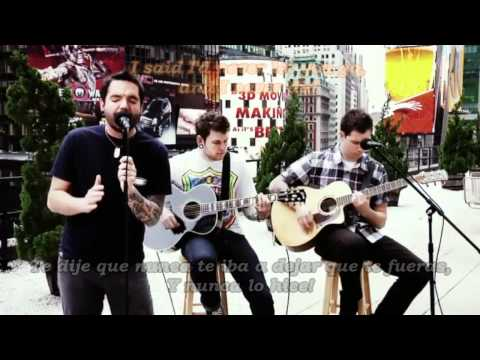 A Day To Remember - Have Faith in Me (Sub en Español with Lyric) ᴴᴰ