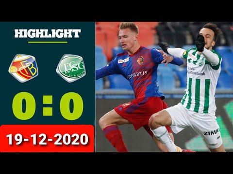 Basel St. Gallen Goals And Highlights