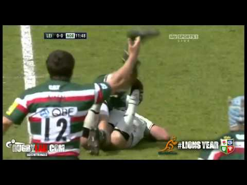 Dylan Hartley- Huge Hit on Toby Flood