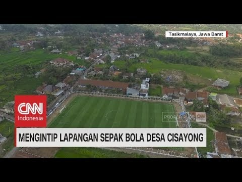 Mengintip Lapangan Sepak Bola Standar Internasional, Desa Cisayong Mp3