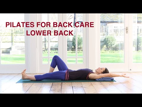 Pilates For Back Care Lower Back 30 mins