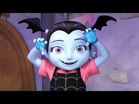 Vampirina Meet and Greet at Disney's Hollywood Studios - New Disney Junior Character at Disney World