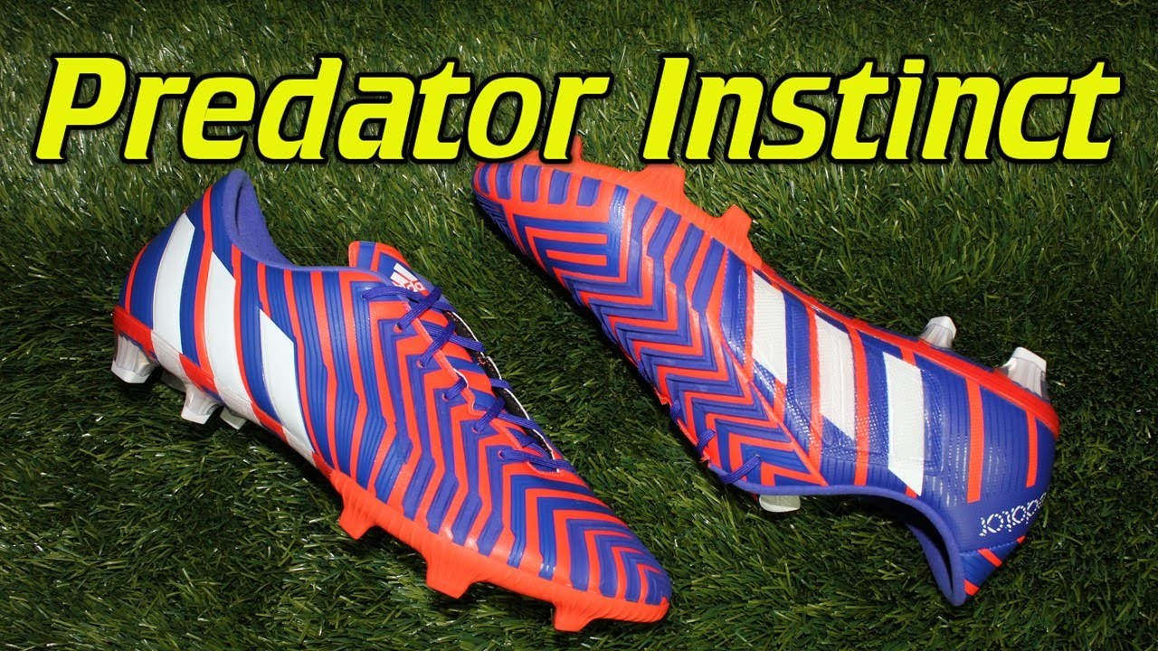 finest selection 3f6fb 9942e Adidas Predator Instinct Solar Red Night Flash - Review + On Feet - YouTube