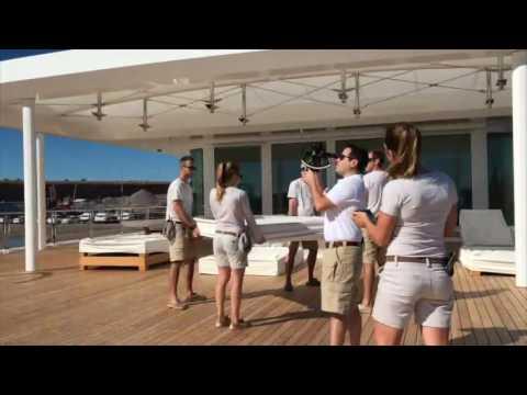 M/Y Rising Sun Crew Mannequin Challenge 2016