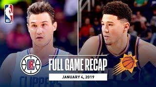 Full Game Recap: Clippers vs Suns | Danilo Gallinari and Lou Williams Shine in Phoenix