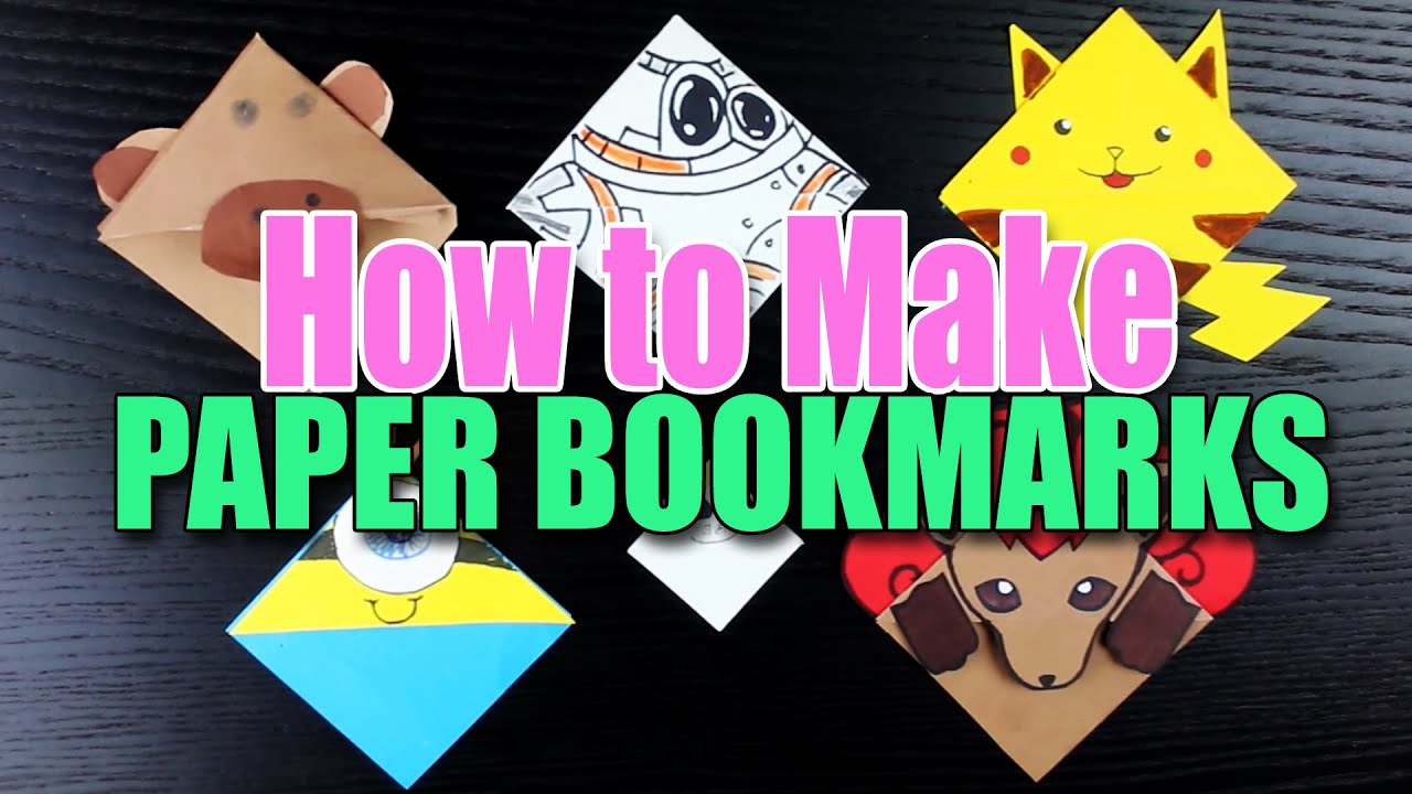 how to make a cartoon bookmark. Black Bedroom Furniture Sets. Home Design Ideas
