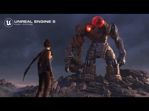 Unreal Engine 5 выходит в ранний доступ, создатели движка показали графику нового поколения