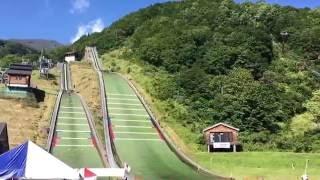 第16回妙高サマージャンプ大会公式練習Sep 3, 2016