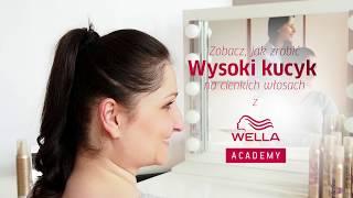 Jak związać włosy w pełen objętości kucyk? Tutorial Hair Coach Wella Polska