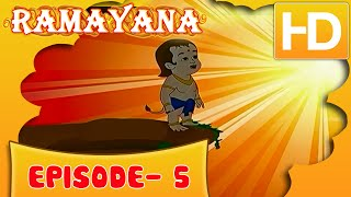 Ramayan Short Story For Kids |  Ramayan in Hindi | Animated Cartoon Story For Kids Ep 5 | Kahaniyaan