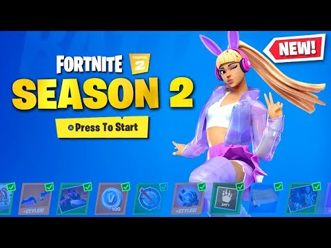 *NEW* Chapter 2 SEASON 2 SKINS In Fortnite! (NEW SEASON)