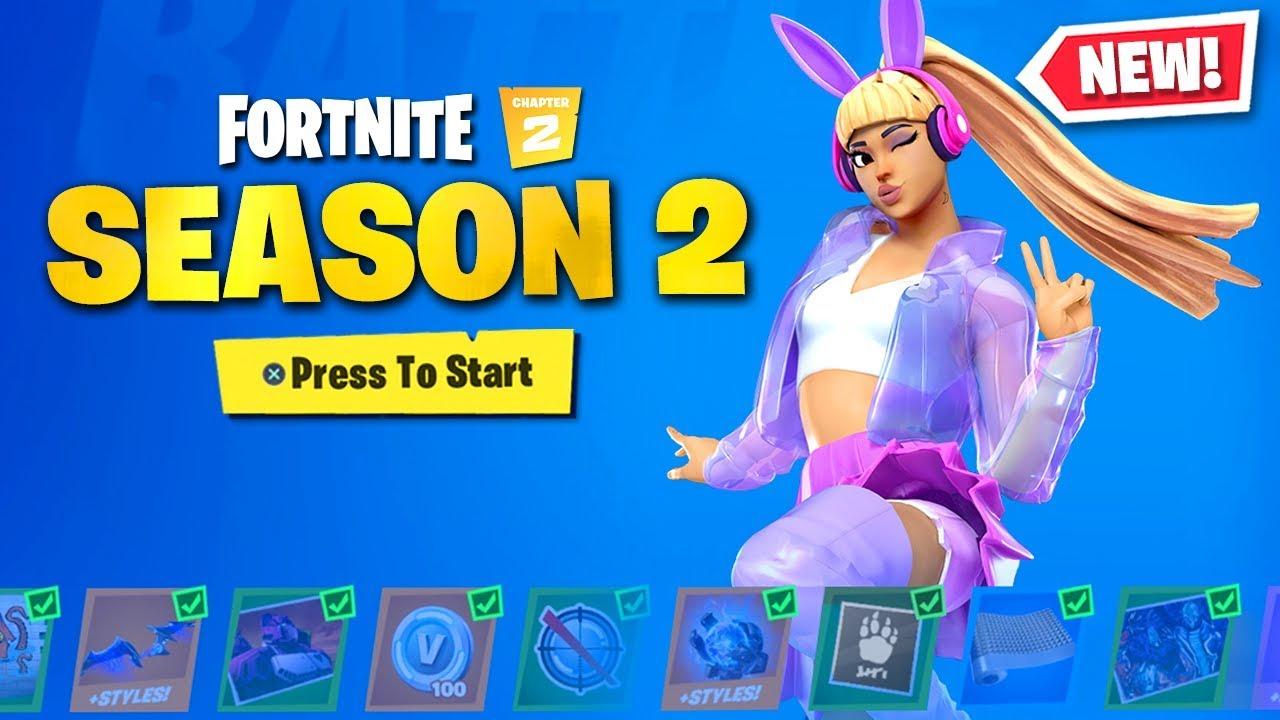 New Chapter 2 Season 2 Skins In Fortnite New Season Youtube