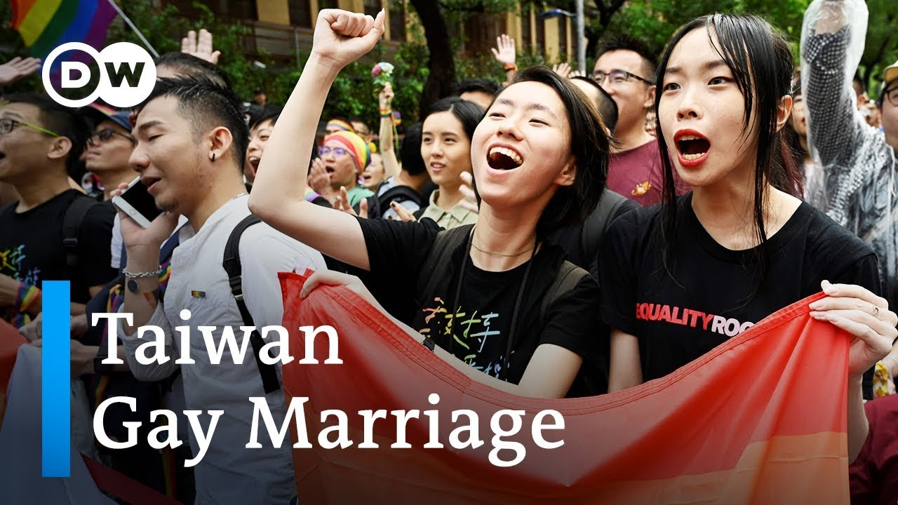 Taiwan First Asian Country To Legalize Same-Sex Marriage  Dw News - Youtube-5893