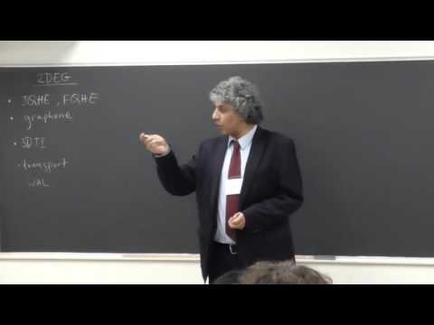 1  May 31 2015 2DEG Physics Tutorial by Cagliyan Kurdak (University of Michigan)