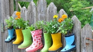 Как украсить забор. Креативные идеи для вашего сада