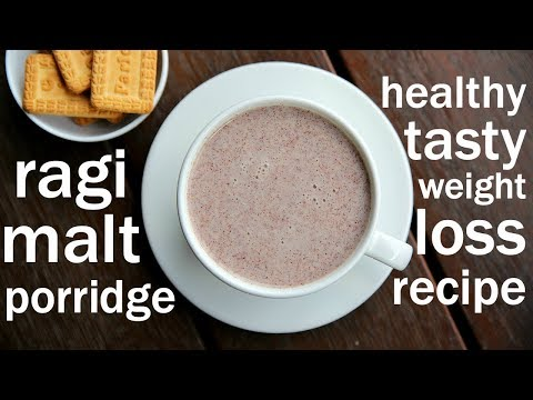 ragi malt recipe | ragi porridge recipe | ragi kanji | finger millet recipes