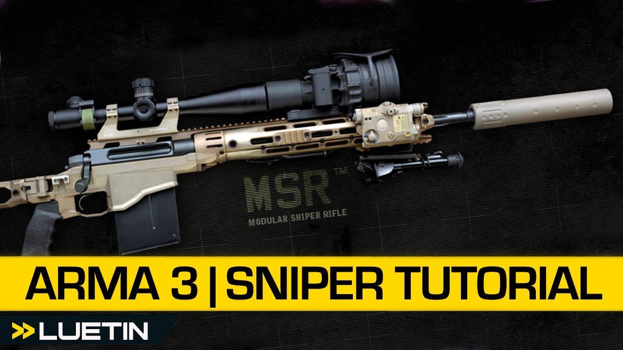 Arma 3 Beginners Guide | Sniper Operation (Beta)