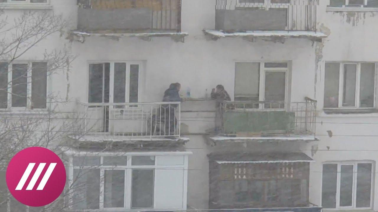 Тем временем в Омске: метель, трое и кот