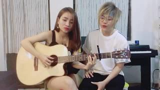 Chiều hôm ấy - Jaykii- Guitar Cover Minh Moon Hà ft Thạch Thảo
