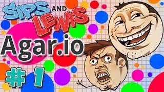 Agar.io #1 - Sips & Lewis